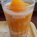 ( ・×・)ドトールコーヒーのフローズンマンゴーと復刻ミラノサンドを改装オープンの上野浅草通り店で
