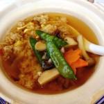 ( ・×・)バーミヤンの秋穫フェア「松茸香る上湯スープチャーハン」
