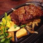( ・×・)新小岩「うちだ」はちょっとレトロなステーキ屋さん