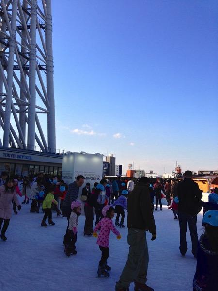 東京スカイツリータウンアイススケート場7