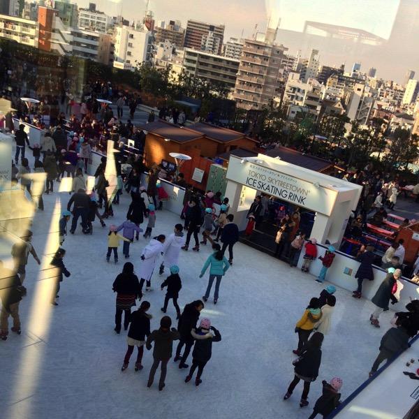 東京スカイツリータウンアイススケート場1