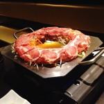 ( ・×・)新宿の「一蓮」で鉄板しゃぶしゃぶ食べてきました
