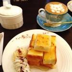 ( ・×・)東銀座の味わい深い喫茶店「Ken's珈琲店」で皇室はちみつハニートースト