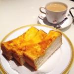( ・×・)ヨドバシアキバのカフェ「丸福珈琲店」で絶品チーズトースト