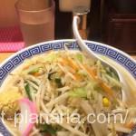 ( ・×・)上野のタンメン専門店で野菜たっぷり栄養補給