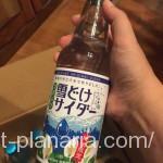 ( ・×・)ふるさと納税でまたまた地サイダーが届いたよ「つがいけ雪どけサイダー」長野県小谷村