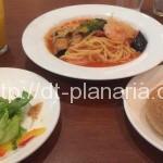 ( ・×・)クロネコヤマトのお隣りのカフェ&パン屋さんでパスタランチ