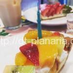 ( ・×・)東京ソラマチの「キル フェ ボン」でソラマチ限定タルトを食べてきました。