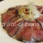 ( ・×・)千駄木駅からすぐ!イタリアンDAIで「ローストビーフ丼」