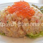 ( ・×・)御徒町の景色を眺めながら新鮮な海鮮料理をどうぞ「吉池食堂」海鮮チャーハン 880円