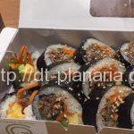 ( ・×・)韓国海苔巻専門店でプルコギ海苔巻をテイクアウト「カンナムキンパ」渋谷 東急フードショー