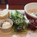 ( ・×・)お茶の水の「デリフランス」でパン食べ放題ランチ、ドリンクバー付き