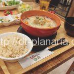 ( ・×・)玄米ごはんと玄米味噌汁と野菜いっぱいのバランス定食がボリュームいっぱいで500kcal「Sakura食堂」マロニエゲート銀座2