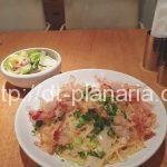 ( ・×・)上野マルイの「パスタモーレ」のパスタは量が選べてお値段そのままパスタがあるよ