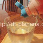 ( ・×・)フレーバーウォーターが簡単に作れるカルピスみたいな飲料があったよ「ポッカ「WATER DROP(ウォータードロップ)」