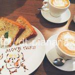( ・×・)新宿三丁目の駅近隠れ家カフェ「MOVE CAFE」ラテアートが超キュート
