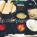 ( ・×・)小岩の駅からすぐ。会津蕎麦ランチ1000円。わっぱ飯付き「七日町亭」シャポー小岩