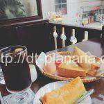 ( ・×・)小岩駅前で贅沢フルーツ付きのモーニング!「ラフォーレ」なんと11時30分までやってます