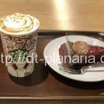 ( ・×・)上野広小路のパルコヤの新しいスタバで、裏メニューのホットミルク「キャラメルスチーマー」飲んでみた