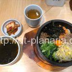 ( ・×・)渋谷東急東横店のデパ地下のイートインコーナーで本格的な石焼きビビンバを食べてみた