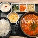 ( ・×・)ダイバーシティでショッピングの後は「東京純豆腐(トウキョウスンドゥブ)」でチーズトッピングのカスタムスンドゥブ鍋