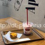 ( ・×・)ヨドバシアキバのフレンチベーカリーカフェで、限定のいちごミルクとエッグタルト「Brioche Dorée(ブリオッシュ ドーレ)ヨドバシAKIBA店」