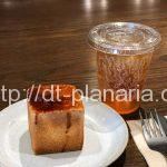 ( ・×・)上野風月堂のカフェでイートイン限定の「焼きたて東京カステラ」を食べてみた