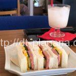( ・×・)稲荷町駅からすぐの小さなオシャレカフェでスパムサンドと甘酒ソーダ「Sabö Asaichi」