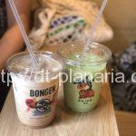 ( ・×・)東銀座の和風モダンなテイクアウトカフェで抹茶ラテとキャラメルラテ「BONGEN COFFE」