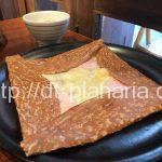 ( ・×・)そば粉100%の本格的なガレットとりんごジュースで休日のんびりランチ「ブレッツカフェクレープリー 銀座店」