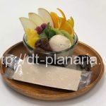 ( ・×・)栄養豊富なスーパーフード「スピルリナ専門のカフェ」でスピルリナあんみつ 「スピルリナブルー」御徒町