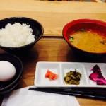 ( ・×・)美味しいたまごかけご飯はいかが?「おむすびのGABA」  末広町