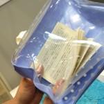 ( ・×・)お風呂で本を濡らさずに読書ができるぞ