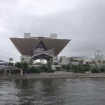 ( ・×・)東京ビッグサイトから水上バスで日の出桟橋まで移動してみたよ