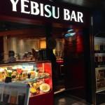 ( ・×・)「YEBISU BAR(エビスバー) 上野の森さくらテラス店」でビール