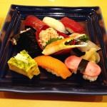 ( ・×・)上野の森さくらテラスでお寿司「築地 寿司清」