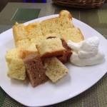( ・×・)かっぱ橋道具街のすぐ近くにシフォンケーキが美味しい「気ままなキッチン」オススメです