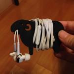 ( ・×・)羊のイヤホンホルダーが可愛くて超おすすめです