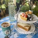 ( ・×・)ピーターラビットガーデンカフェで緑に囲まれてアフタヌーンティー体験