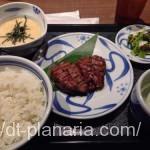 ( ・×・)上野の「ねぎし」で気軽にお安く牛タン