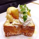 ( ・×・)あの超高級食パンのハニトーが食べられるカフェ「MIYABI」