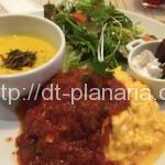( ・×・)新宿ルミネエスト7階レストランフロアであったかスープとオムライス「eat more SOUP&BREAD」