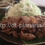 ( ・×・)渋谷のど真ん中にあるオシャレカフェで生姜焼き定食ランチ「cafe amber」土日もやってます