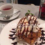 ( ・×・)銀座のど真ん中でゆったりお茶できるwi-fi完備の便利カフェ「ノアカフェ」ワッフルもおススメ