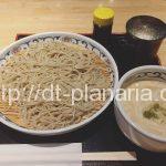 ( ・×・)フランスと日本の不思議なコラボ蕎麦「フォアグラエスプーマもり」上野 「喜乃字屋」