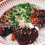 ( ・×・)映画の前にサクッと味噌カツ丼食べて腹ごしらえ「とんかつ寿々木(すずき)」コレド室町2