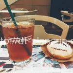 ( ・×・)羽田空港にベンツとコラボしたクリスピークリームドーナツ見つけた!ベンツマークのドーナツがキュート!