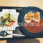 ( ・×・)浅草のお洒落なホステルで「から揚げカレー」ランチ。電源、wi- fiもあるよ「BUNKA HOSTEL TOKYO」