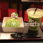 ( ・×・)パンダが超キュート!上野の新しい松坂屋に伊藤園の和カフェオープン