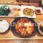 ( ・×・)ランチセットでチーズタッカルビいただきます!「韓美膳」池袋